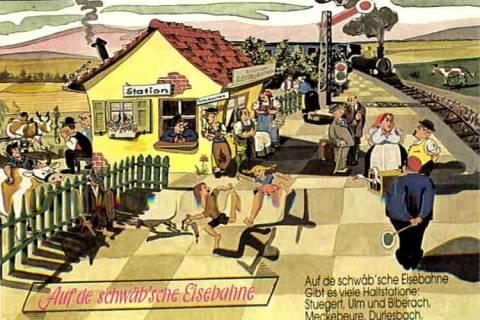 Schwäbische Eisenbahn Lied